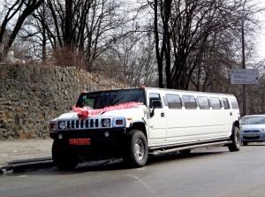 Limousine de mariage