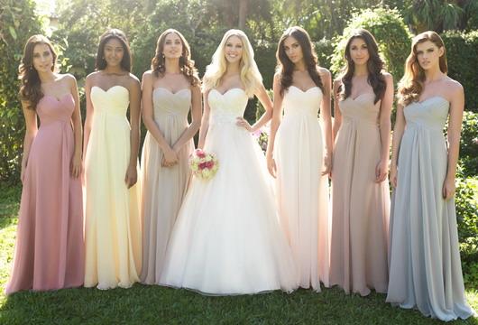 Choisir la robe des demoiselles d honneur site d for Robes de demoiselle d honneur pour les mariages sur la plage